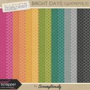 Bright Days Quatrefoil Papers Kit