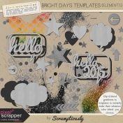 Bright Days Template Elements Kit