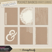 Pocket Basics Kraft Journal Cards