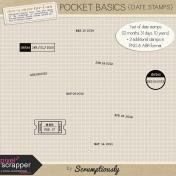 Pocket Basics Date Stamps