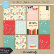Work Day Journal Cards