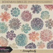 Bohemian Breeze Painty Bits Flowers