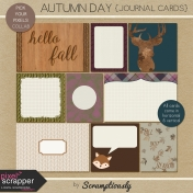 Autumn Day Journal Cards