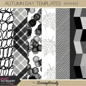 Autumn Day Paper Templates