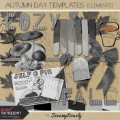 Autumn Day Elements Templates