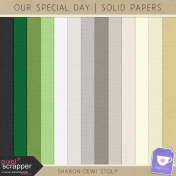 Our Special Day- Solid Papers