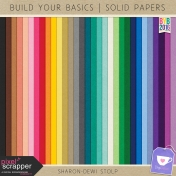Build Your Basics 2016- Solid Papers