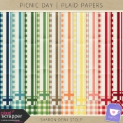 Picnic Day- Plaid Papers