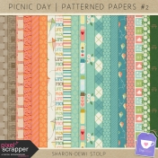 Picnic Day- Patterned Papers #2