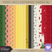 Picnic Day- Patterned Papers #3