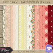 Picnic Day- Patterned Papers #4