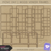 Picnic Day- Wood Veneer Frames