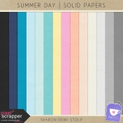 Summer Day- Solid Papers