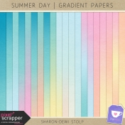 Summer Day- Gradient Papers
