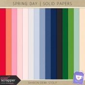 Spring Day- Solid Papers