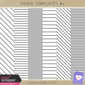 Paper templates #7