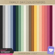 Family Day- Solid Papers