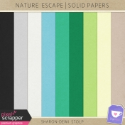Nature Escape- Solid Papers