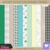 Nature Escape- Patterned Papers
