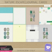 Nature Escape- Journal Cards