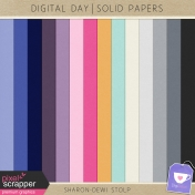 Digital Day- Solid Papers