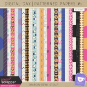 Digital Day- Patterned Papers #1