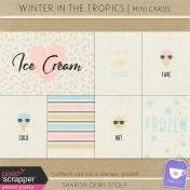 Winter in the Tropics- Mini Cards