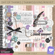 Day of Thanks- Thanksgiving Mini Kit