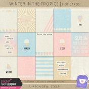 Winter in the Tropics- Hot Cards