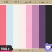 The Good Life: April- Solid Papers
