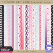 The Good Life: April- Patterned Papers