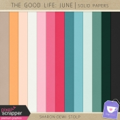 The Good Life: June- Solid Papers