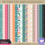 The Good Life: June- Patterned Papers