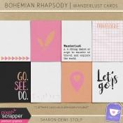 Bohemian Rhapsody- Wanderlust Cards