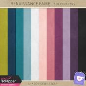 Renaissance Faire- Solid Papers