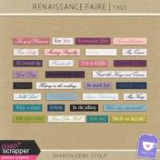 Renaissance Faire- Tags