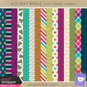 Holiday Magic- Patterned Papers