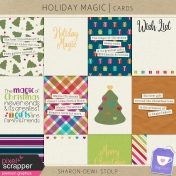 Holiday Magic- Cards