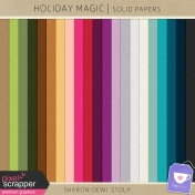 Holiday Magic- Solid Papers