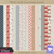 True Love- Patterned Papers