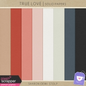 True Love- Solid Papers
