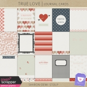 True Love- Journal Cards