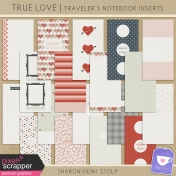 True Love- Traveller's Notebook Inserts