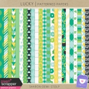 Lucky- Patterned Papers