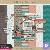 Cactus Love- Mini