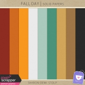 Fall Day- Solid Papers