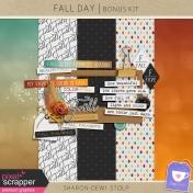 Fall Day- Bonus Kit