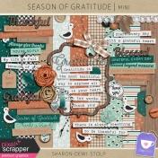Season of Gratitude- Mini