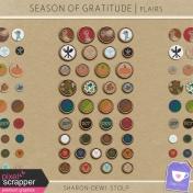 Season of Gratitude- Flairs