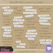 Valentine- Snippets & Stamps